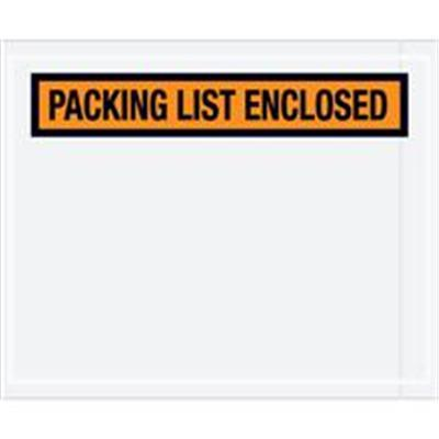 """Panel Face"" Envelopes 4 1/2 x 5 1/2"" Orange  - ""Panel Face"" Envelopes - Performance Packaging, Inc."