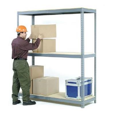 72W x 48D x 60H 900 Lb Capacity Per Level Wide Span Rack With 3 Shelves No Deck